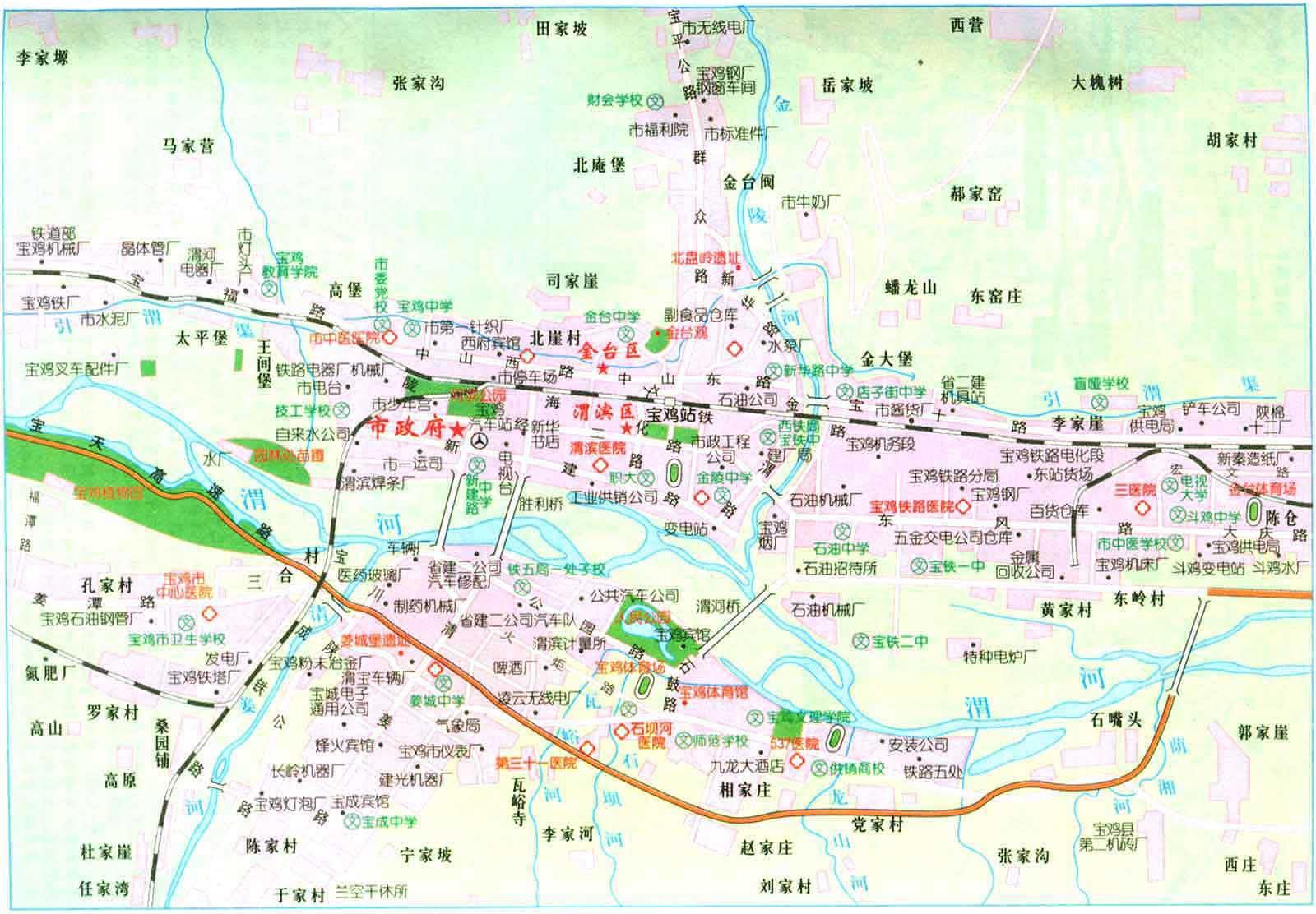 求北京市区的电子地图