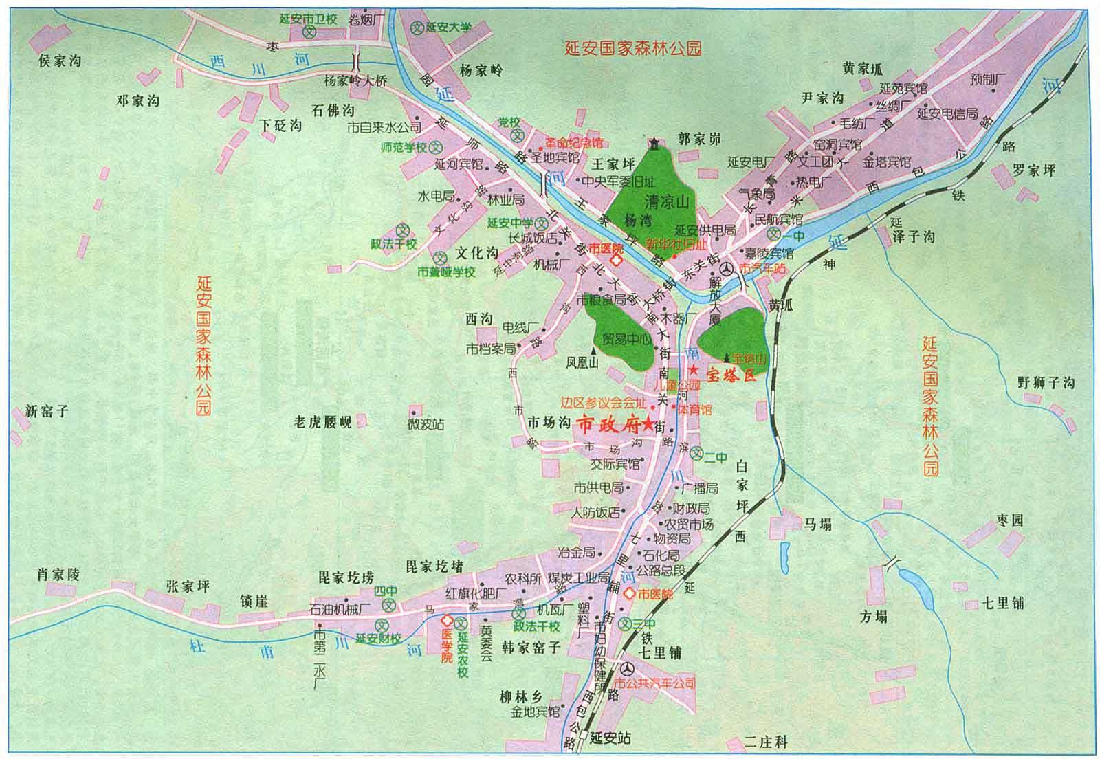 延安市电子地图(6688)